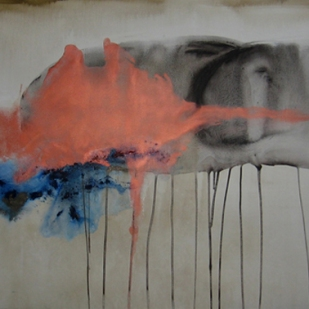 195x114 cm, acrylic and pigment on canvas, 2013