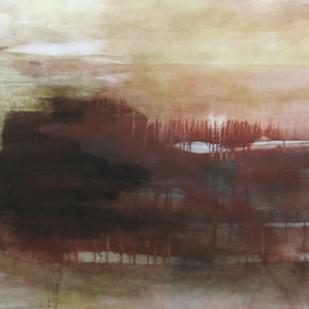 162x97 cm, acrylic, graphite and varnish on canvas, 2013