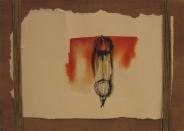 26x36 cm, ink on handmade paper, 2013