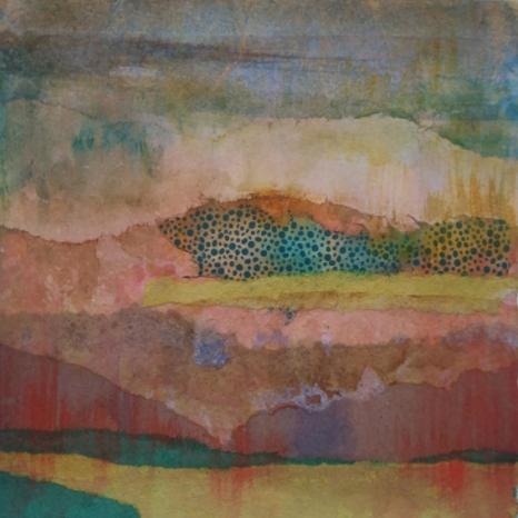 13x13 cm, mixed technique, 2017