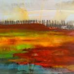 60,6x50,7 cm, acrylic and oil on canvas, 2019