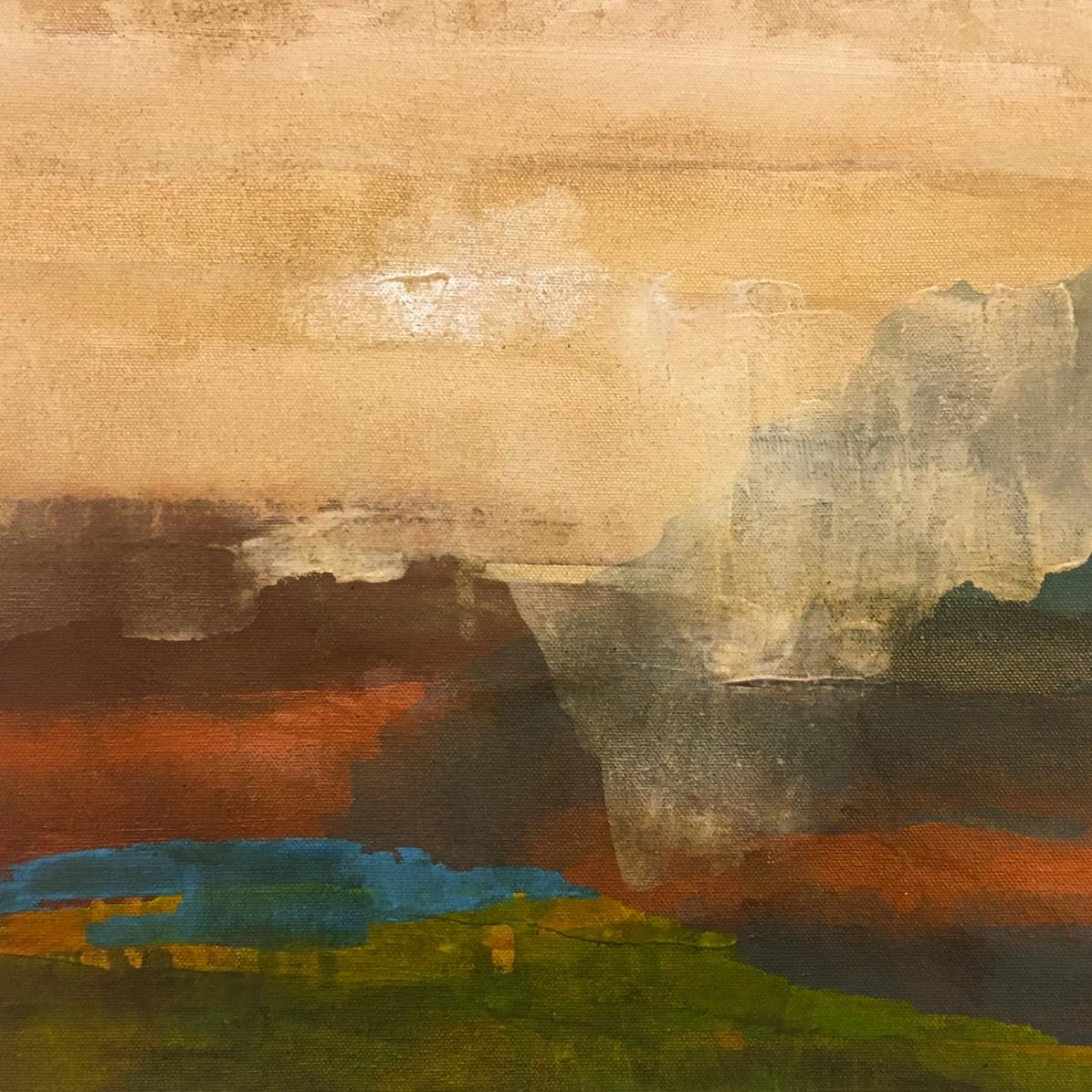 everithing sleep, 40x30 cm, acrylic on canvas, SOLD