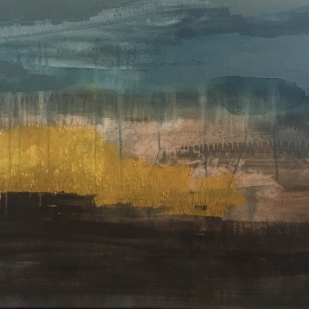 91,4x61 cm, acrylic and oil on canvas, 2019