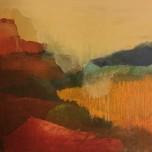 40x30 cm, acrylic, collage, oil on canvas, 2019